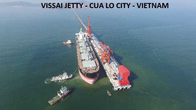 Ship repair in vissai port