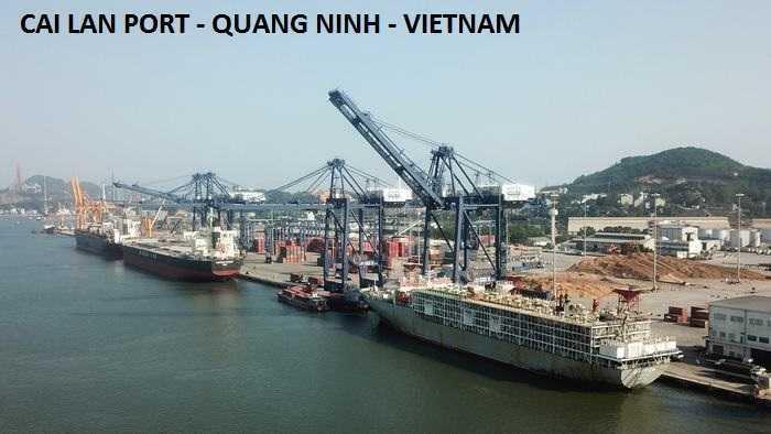 Ship repair in Cailan Port