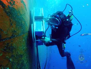 underwater service, underwater inspection in campha