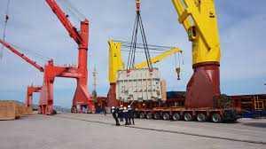 Ship repair in Vinh Tan port, Vietnam