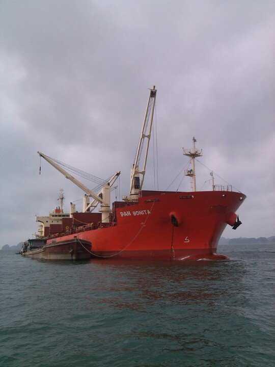 Ship repair in Nghi Son