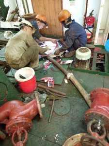valve overhaul in vungtau