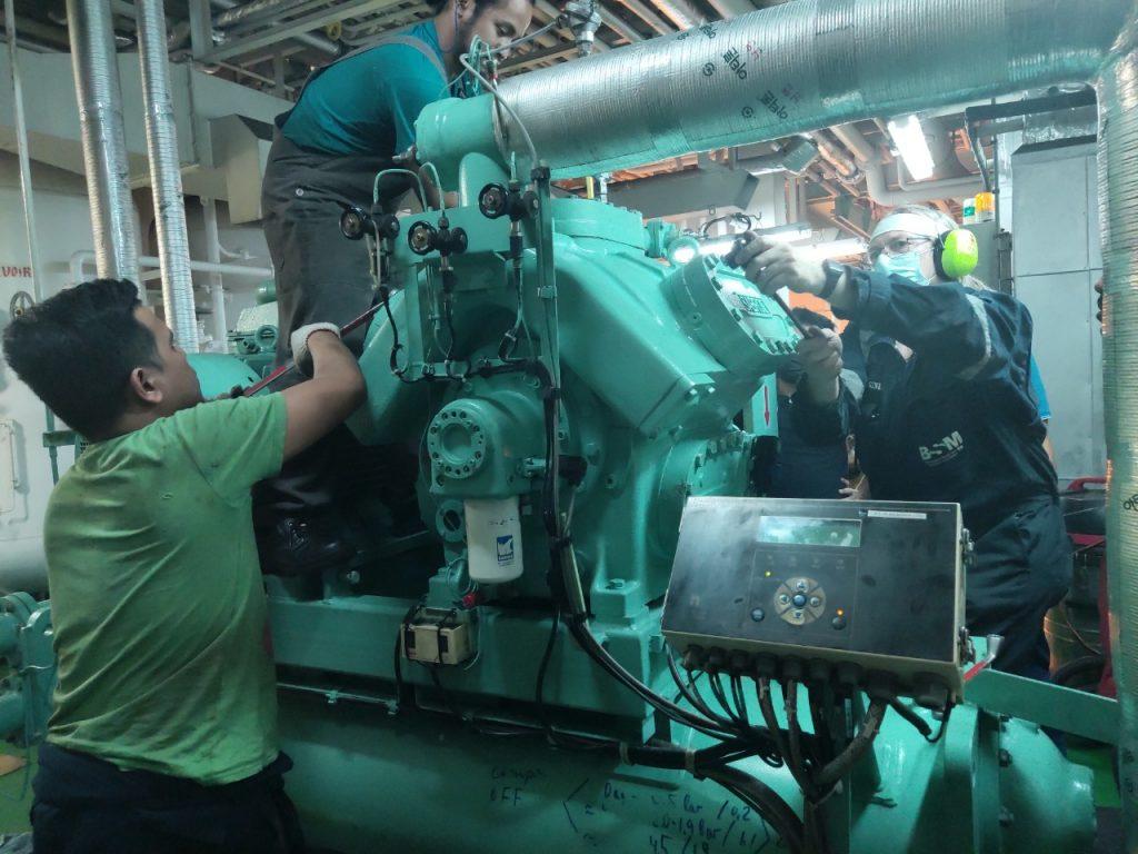 Ship repair in Haiphong