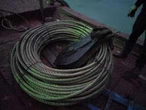 SUPPLY CRANE STEEL WIRE ROPE IN CAMPHA
