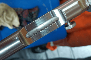 TAIL SHAFT WEAR DOWN CLEARANCE MESUREMENT IN CAM PHA