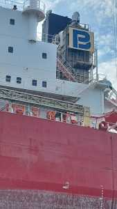 PAINTING THE SHIP NAME IN CAM PHA