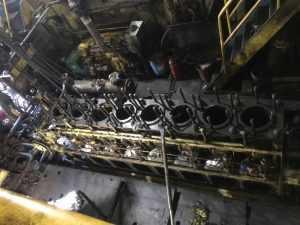 GENERATOR ENGINE OVERHAULING IN VIET NAM